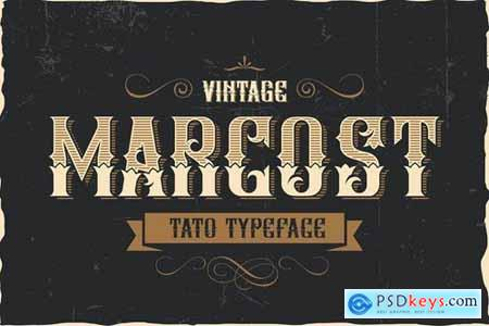 Marcost - Tato Typeface