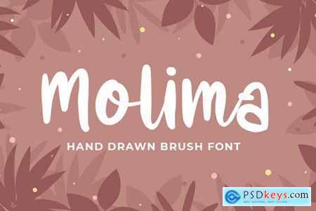 Molima - Hand Drawn Font