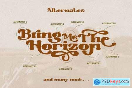 Morrello - Bold Serif Font