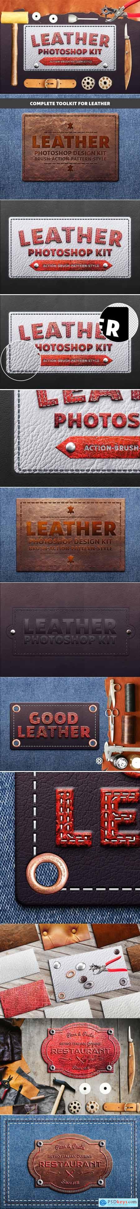 Photoshop Leather Kit 21241350