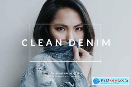 Clean Denim- Lightroom & ACR Preset 2889912