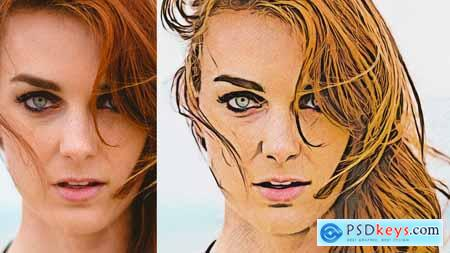 Painting With Pencil - Photoshop Action 21271880