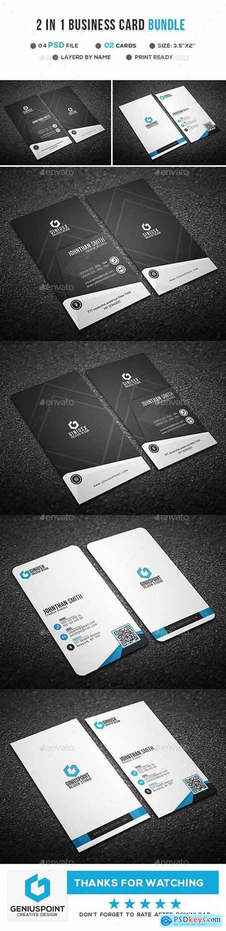 2 in 1 Business Card Bundle 21255328