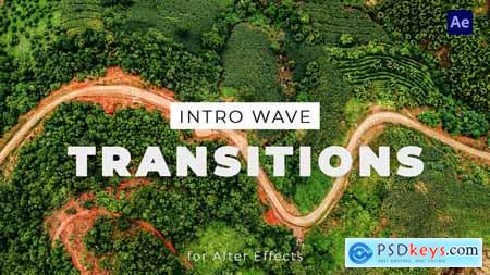 Intro Wave Transitions for After Effects 33838158