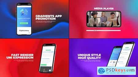 Gradients App Promo 33842704