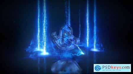 Lightning Storm Electric Logo 33840017