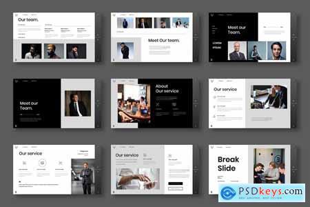 Bekam - Business Powerpoint, Keynote and Google Slides Template