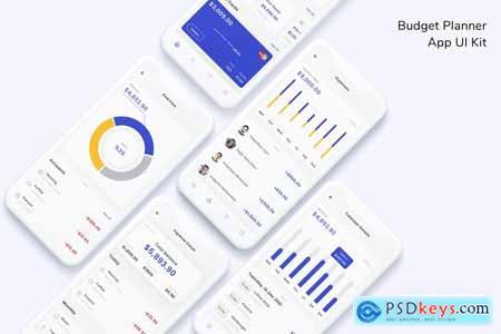 Budget Planner App UI Kit XHNKA6X