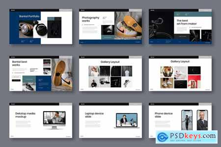 Bantal - Business Powerpoint, Keynote and Google Slides Template
