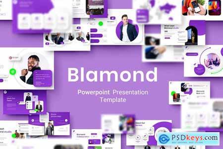 Blamond – Business Powerpoint, Keynote and Google Slides Template