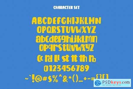 Fairdate Cute Display Font