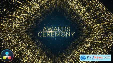 Awards Ceremony Opener DaVinci Resolve 33713143