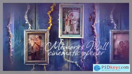 Memories Wall Cinematic Opener 33753065