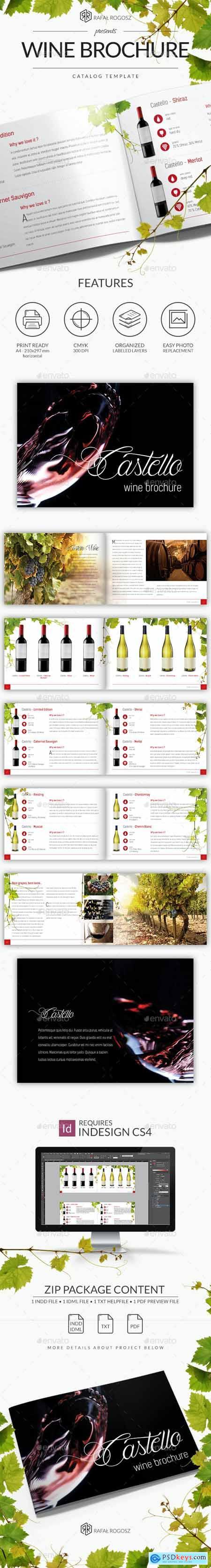 Wine Grape Brochure A4 Horizontal 20652426
