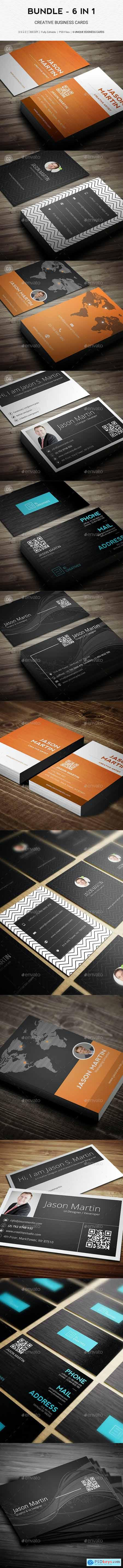 Bundle - Pro 6 in 1 - Creative Business Cards - B49 20603469