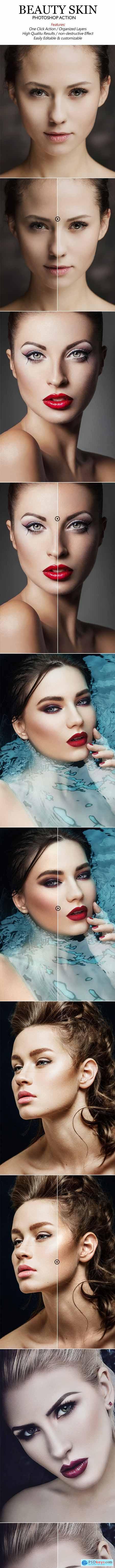 Beauty Skin Photoshop Action 20571575