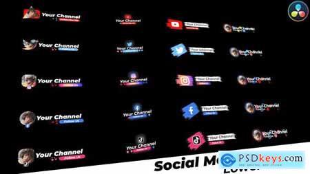 Social Media Lower Thirds 32402626