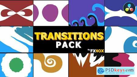 Funny Cartoon Transitions DaVinci Resolve 32441105