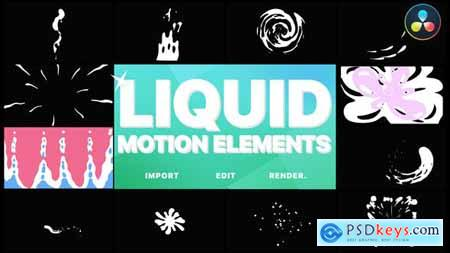Liquid Motion Elements DaVinci Resolve 32269173