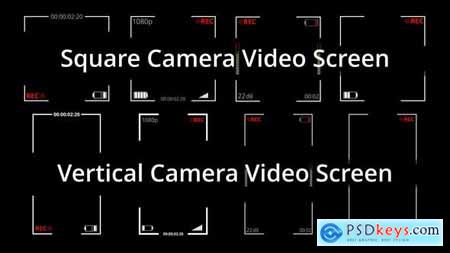 Square and Vertical Video Recording Screen 32048136