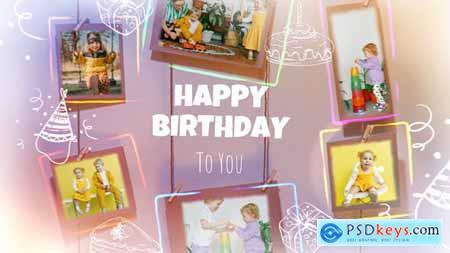 Happy Birthday Photo Frames 32068436