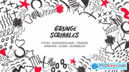 Grunge Scribbles Hand-Drawn Pack 32489881