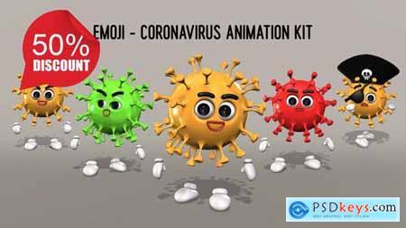Emoji - Coronavirus Animation Kit 26635531