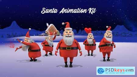 Happy Christmas v2 - Santa Animation Kit 22966551