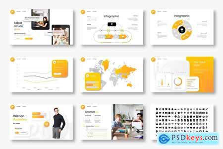 Wilson - Business Powerpoint, Keynote and Google Slides Template