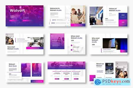 Wolvert - Business Powerpoint, Keynote and Google Slides Template