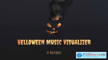 Halloween Music Visualizer 33957632