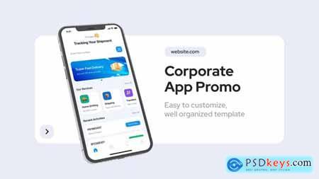 Corporate App Promo 33964473