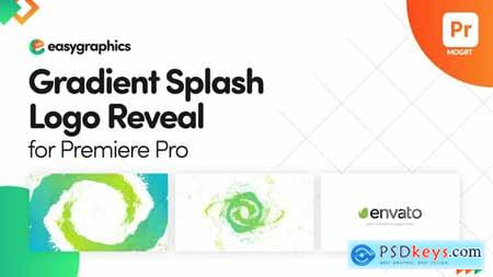 Gradient Splash Logo Reveal for Premiere Pro 32588493