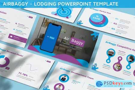 Airbaggy - Lodging Powerpoint Template CTQ7AB9