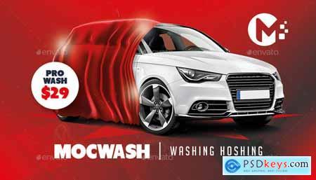 Car Wash Business Card Templates 19674195