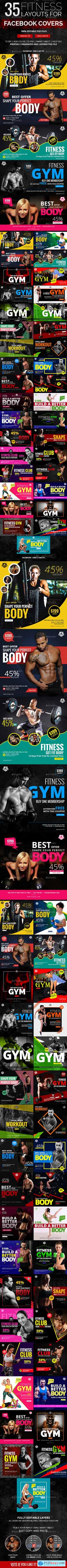 70 Fitness Facebook Banners 19724623
