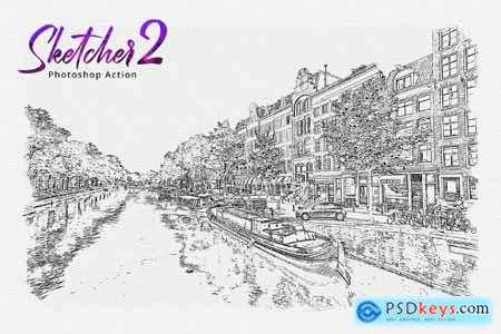 Sketcher 2 Photoshop Action 33112835