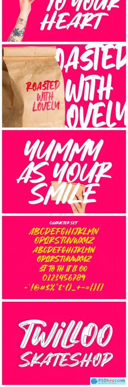 Hybridge Font