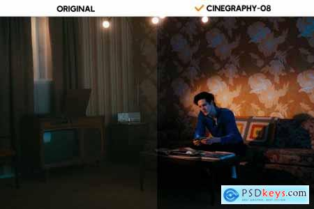 Cinegraphy Presets & Actions 6240899