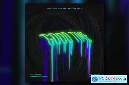 Liquid Melting Text Effects Vol.1 6478021