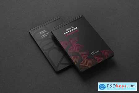 Dark Stationery Branding Mockup Set 6475038