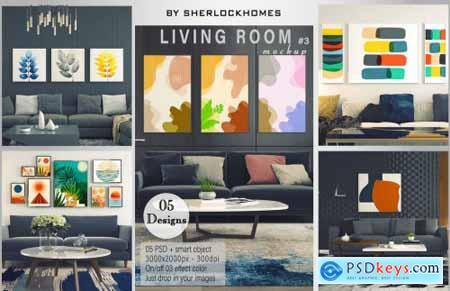 Living Room Mockup [Vol3]