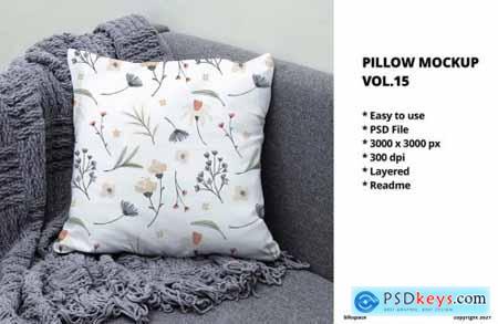 Pillow Mockup Vol.15