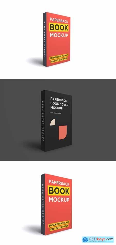 Paperback Book Mockup 10