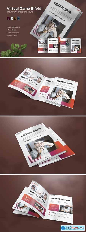 Virtual Game - Bifold Brochure