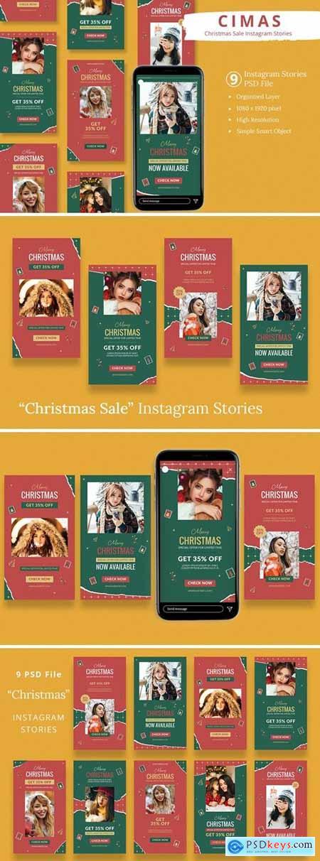 Cimas - Christmas Sale Instagram Stories