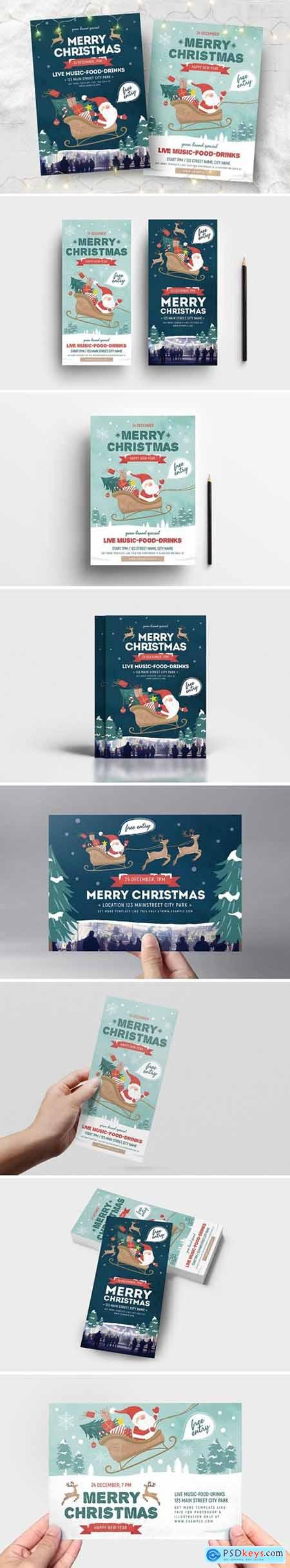 Christmas Flyer - Poster Templates