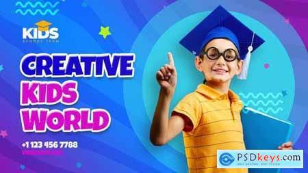 Creative Kids School Intro 34053110