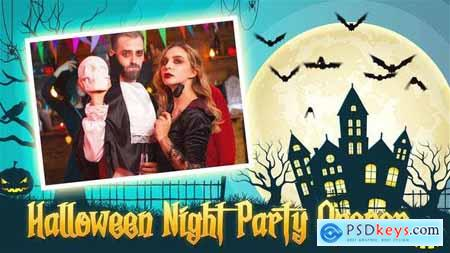 Halloween Night Party Opener 34044276
