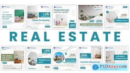 Real Estate Social Media Post Pack 34056388